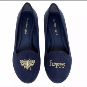 Bee Happy Madden Girl Flats/Loafters Sz 6